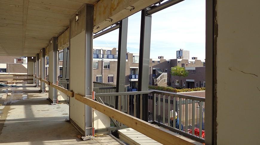 Renovatie appartementen de Hulk Almere 2