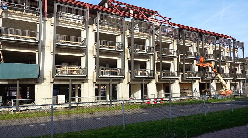 Renovatie appartementen de Hulk Almere 4